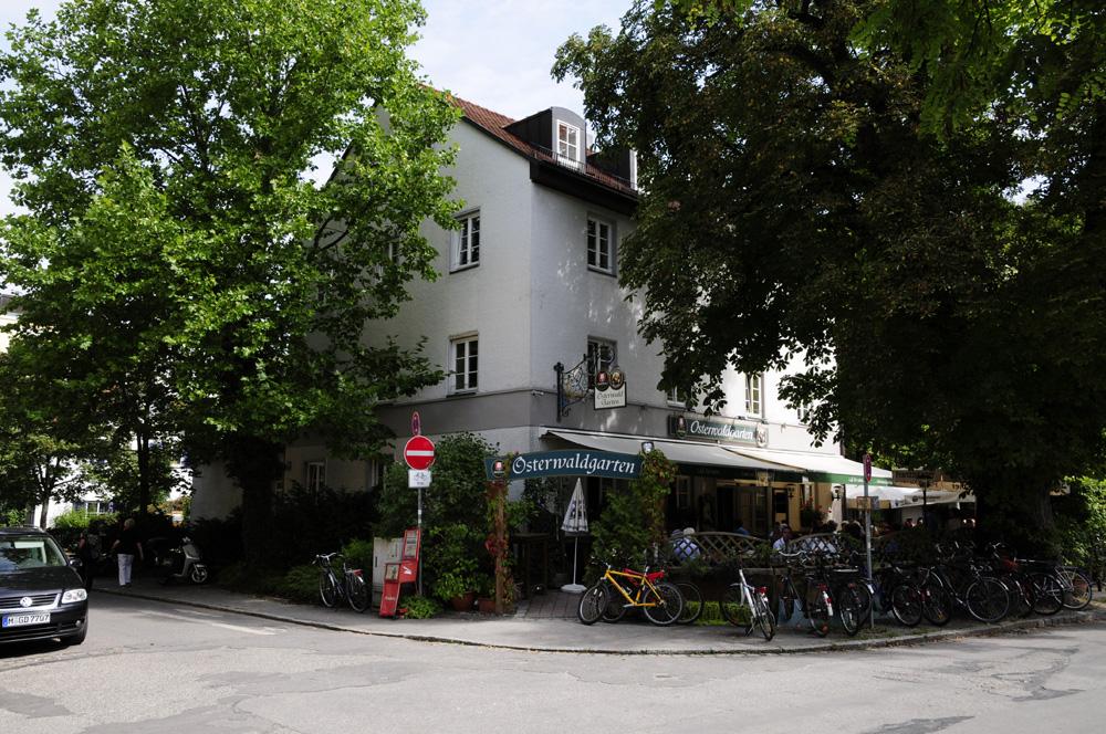Biergarten Muenchen Osterwaldgarten